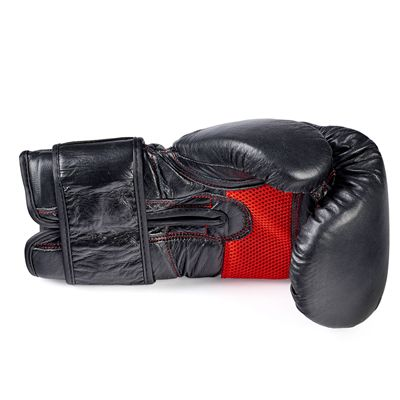 BBE Club Leather Sparring Gloves - Side