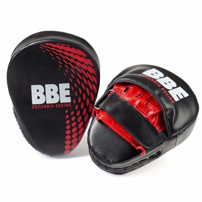 BBE FS Curved Hook and Jab Pads - Side