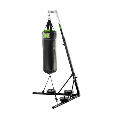 BBE Folding And Height Adjustable Punch Bag Stand With Bag