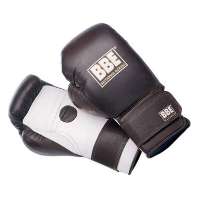 BBE Pro 18oz Leather Coach Sparring Gloves