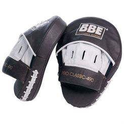 BBE Pro Leather Curved Hook and Jab Pads