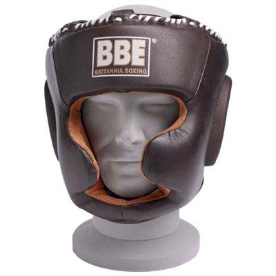 BBE Pro Leather Warrior Adjustable Headguard