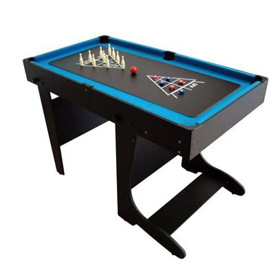 BCE 4ft 12 in 1 Folding Multi Games Table Bowling