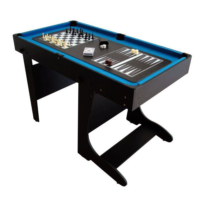 Bce 4ft 20 in 1 folding multi games table twinti for 10 in 1 games table