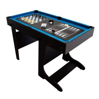 BCE 4ft 20 in 1 Folding Multi Games Table