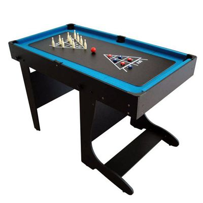 BCE 4ft 21 in 1 Folding Multi Games Table Chess Bowling