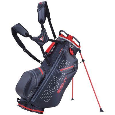 Big Max Aqua Eight Golf Carry Bag - Black Red