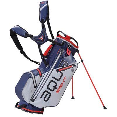 Big Max Aqua Eight Golf Carry Bag - Navy Silver