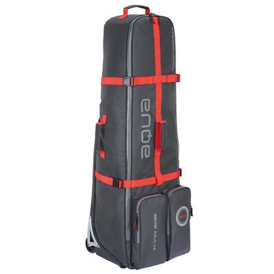 Big Max Aqua EZ Roller Travel Cover-Black and Red