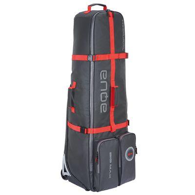 Big Max Aqua EZ Roller Travel Cover-Black and Red