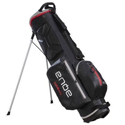 Big Max Aqua Ocean Golf Stand Bag - Black/Red - Side