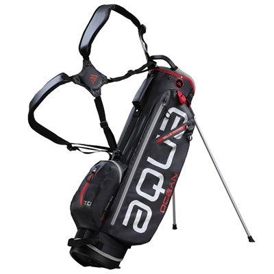 Big Max Aqua Ocean Golf Stand Bag - Black/Red