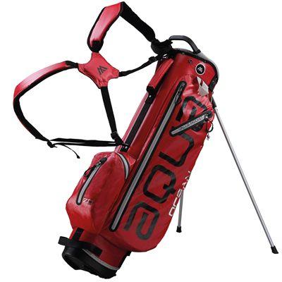 Big Max Aqua Ocean Golf Stand Bag - Red