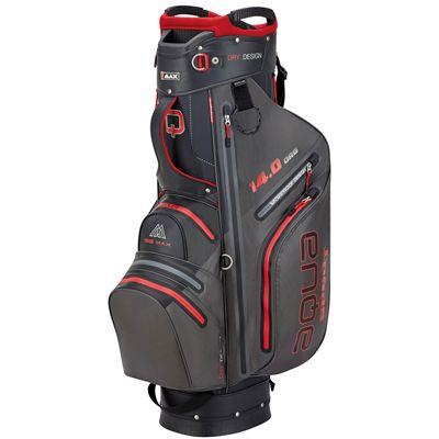 Big Max Aqua Sport 3 Golf Cart Bag - CharocalRed
