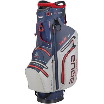 Big Max Aqua Sport 3 Golf Cart Bag - Navy Silver