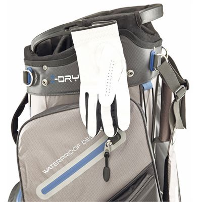 Big Max Aqua Tour Cart Bag - Black/Grey - Gloves