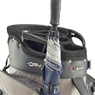 Big Max Aqua Tour Cart Bag - Black/Grey - Ubrella