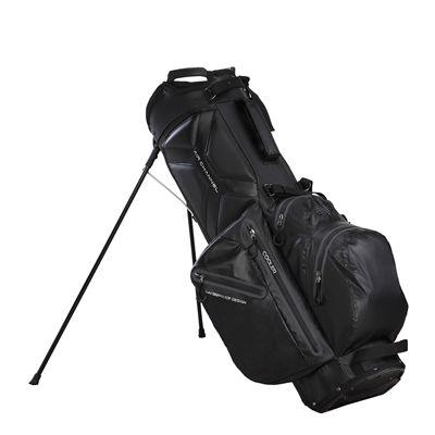 Big Max Aqua Wave Golf Stand Bag - Black - Side