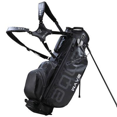Big Max Aqua Wave Golf Stand Bag - Black