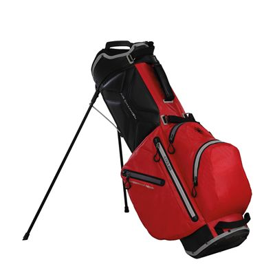 Big Max Aqua Wave Golf Stand Bag - Red - Side