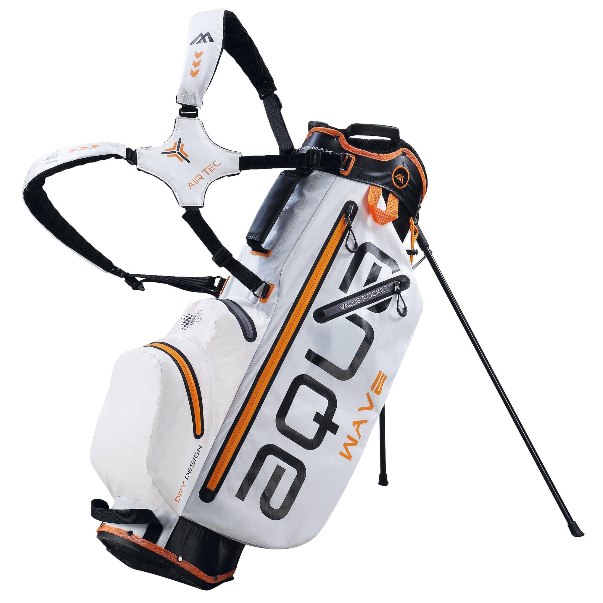 Big Max Aqua Wave Golf Stand Bag - White