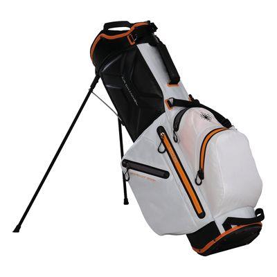 Big Max Aqua Wave Golf Stand Bag - White - Side