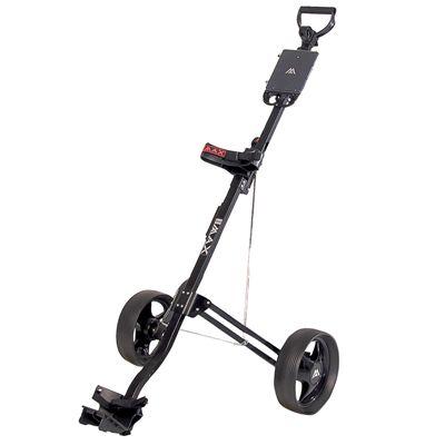 Big Max Basic Golf Trolley - Black Colour