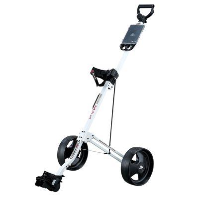 Big Max Basic Golf Trolley - White Colour