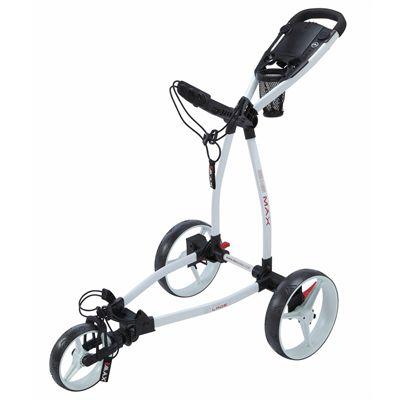 Big Max Blade Golf Trolley-White