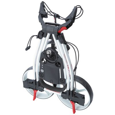 Big Max Blade Golf Trolley-White Fold
