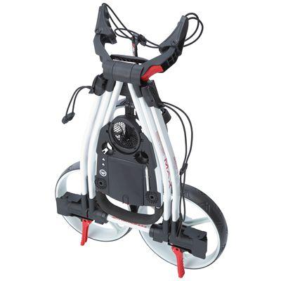 Big Max Blade Golf Trolley-White Fold