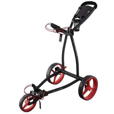 Big Max Blade IP Golf Trolley - Black Red