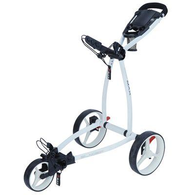 Big Max Blade IP Golf Trolley - White