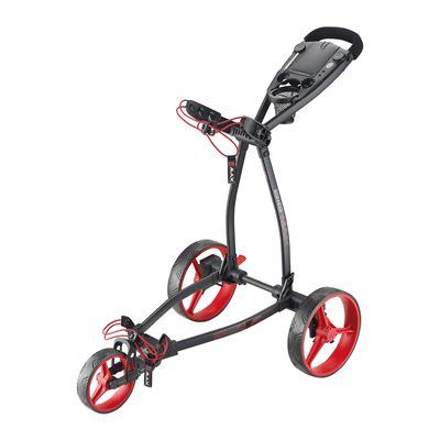 Big Max Blade Plus Golf Trolley-Black and Red