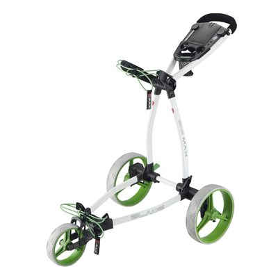 Big Max Blade Plus Golf Trolley-White and Lime