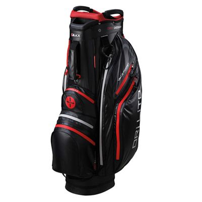 Big Max Dri Lite Cart Bag - Black/Red