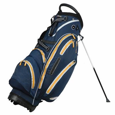 Big Max Dri Lite Stand Bag - Blue/Orange