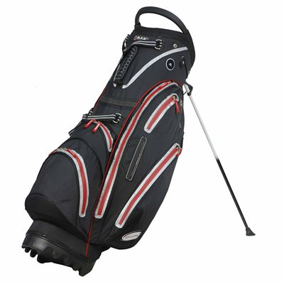 Big Max Dri Lite Stand Bag - Black/Red