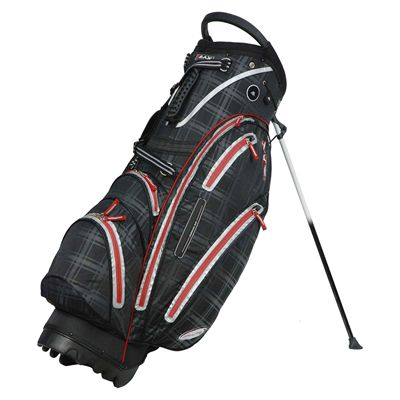 Big Max Dri Lite Stand Bag - Black/Check
