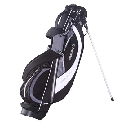 Big Max Heaven 3 Stand Bag - Black/Silver/White