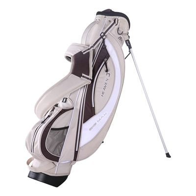 Big Max Heaven 3 Stand Bag - Beige/Coffee/White