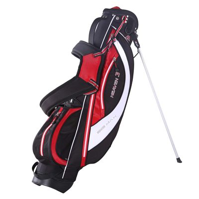 Big Max Heaven 3 Stand Bag - Black/Red/White