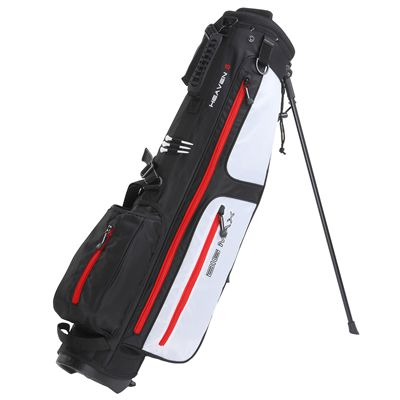 Big Max Heaven 6 Stand Bag-Black and White and Red