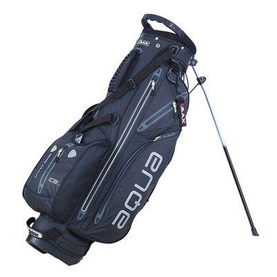 Big Max I-Dry Aqua 7 Stand Bag-Black and Charcoal