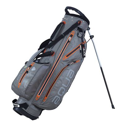 Big Max I-Dry Aqua 7 Stand Bag-Grey and Orange