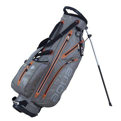 Big Max I-Dry Aqua 7 Stand Bag-Grey and Orange