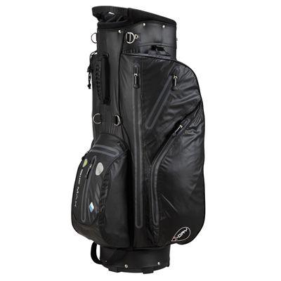 Big Max I-Dry Aqua Cart Bag - Black - Right Side