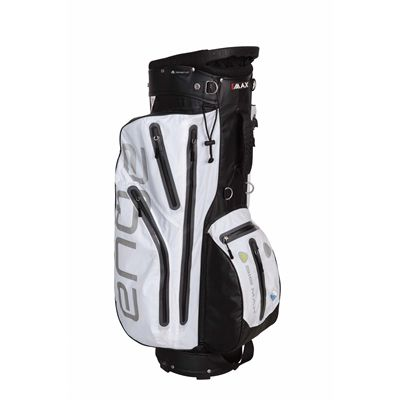 Big Max I-Dry Aqua Cart Bag - Black-White