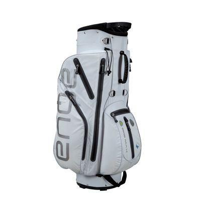 Big Max I-Dry Aqua Cart Bag - White Left Side