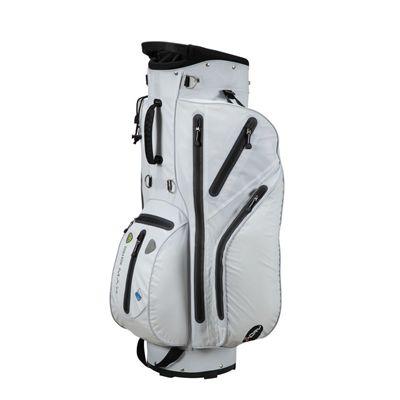 Big Max I-Dry Aqua Cart Bag - White - Right Side